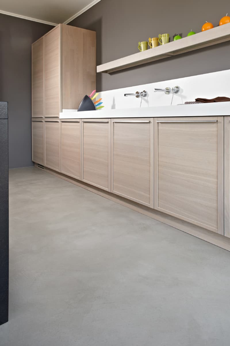 elegant kitchen floor