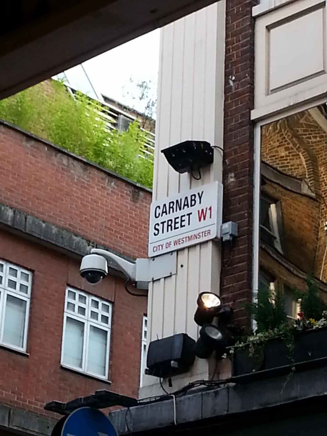 Lyle and Scott, Carnaby Street