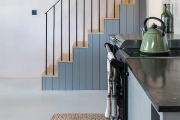 View Industrial Style Flooring Featured on Channel 4's Grand Designs