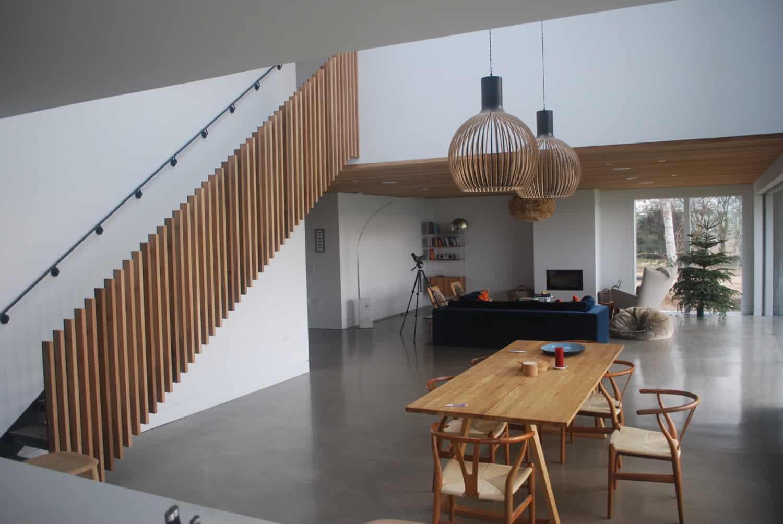 Interior shot of natural looking interior design