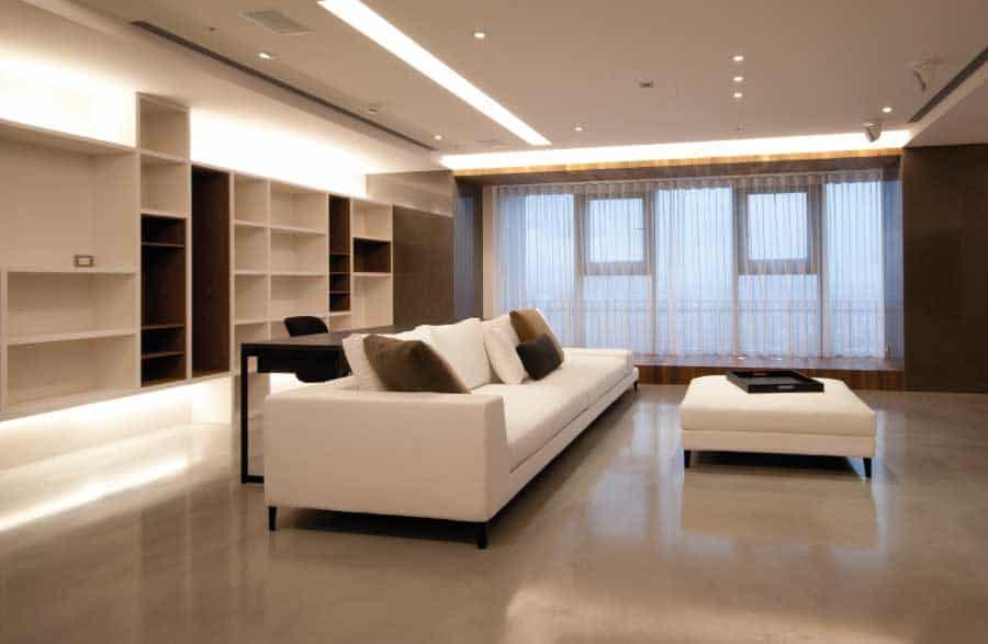 Polished Concrete Lounge Flooring