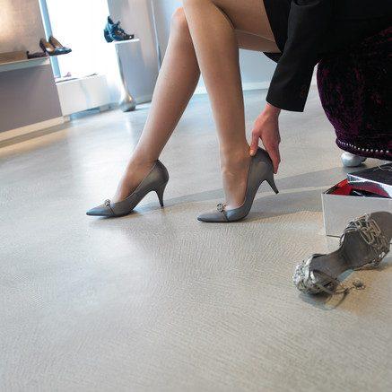 Durable polished concrete floor using Pandomo Loft