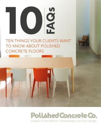 Ten FAQ's About Polished Concrete