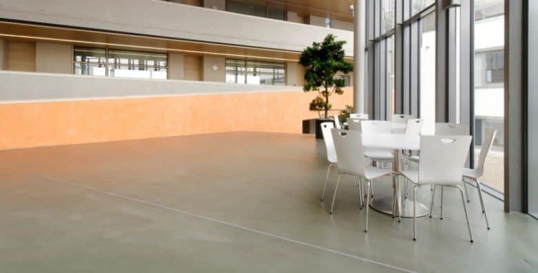 Durable Polished Concrete Floor