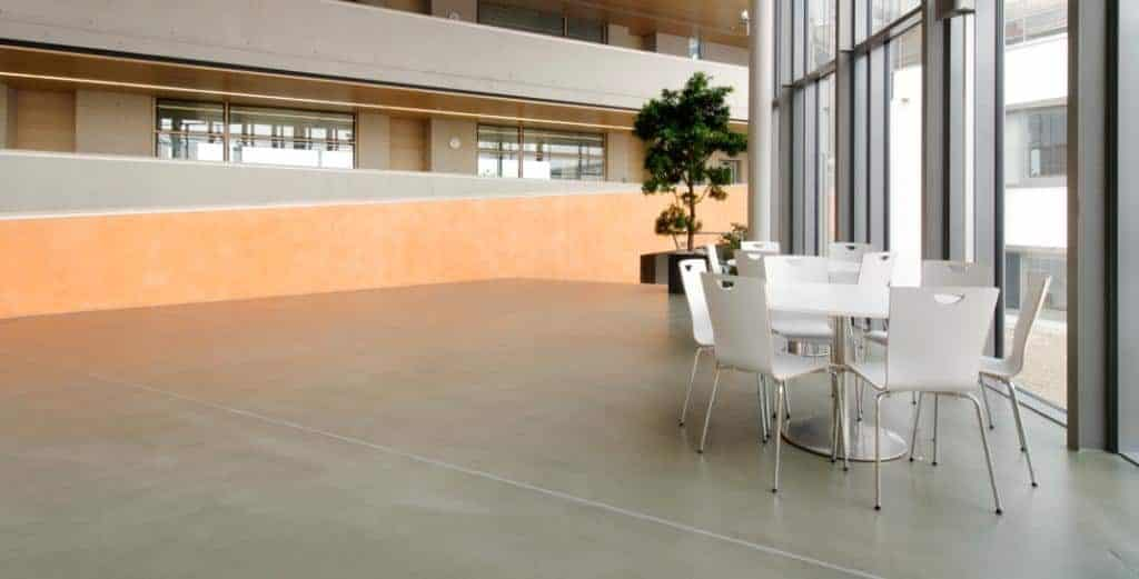 Durable Polished Concrete Floor