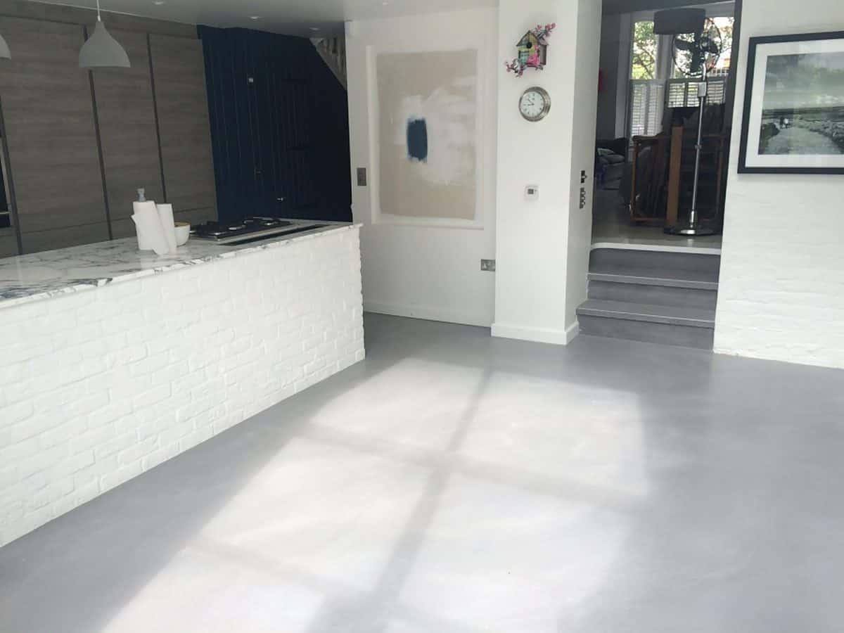 Kitchen Diner Seamless Floors