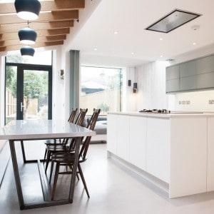 Seamless Polished Concrete Floor