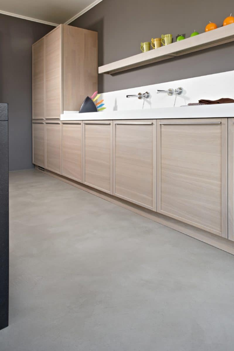 elegant kitchen floor