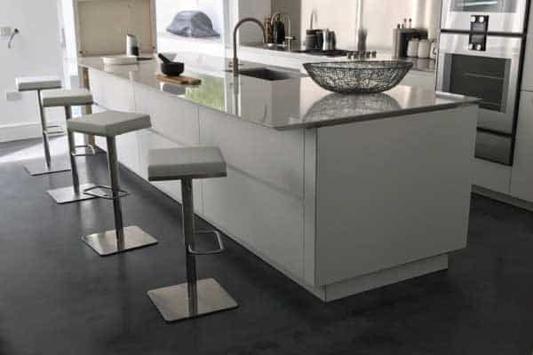 Concrete floor designs for Pembrige Villa