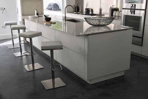 Concrete floor designs for Pembrige Villa